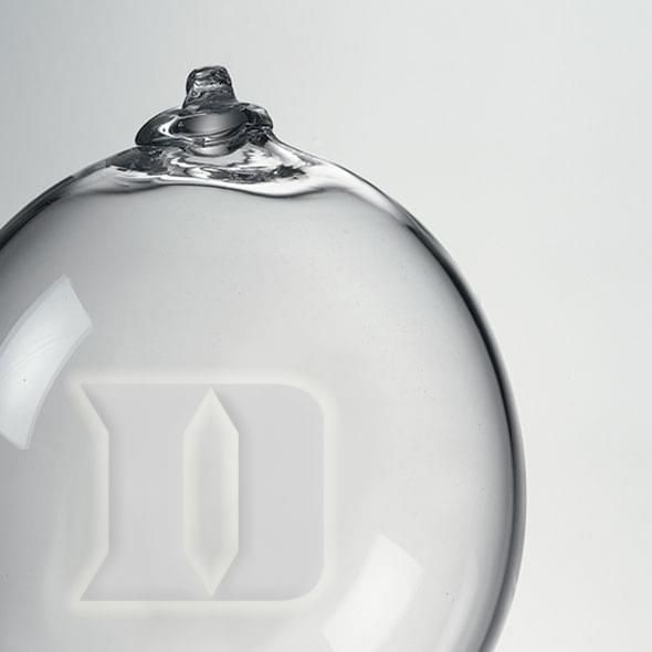 Duke Glass Ornament by Simon Pearce - Image 2