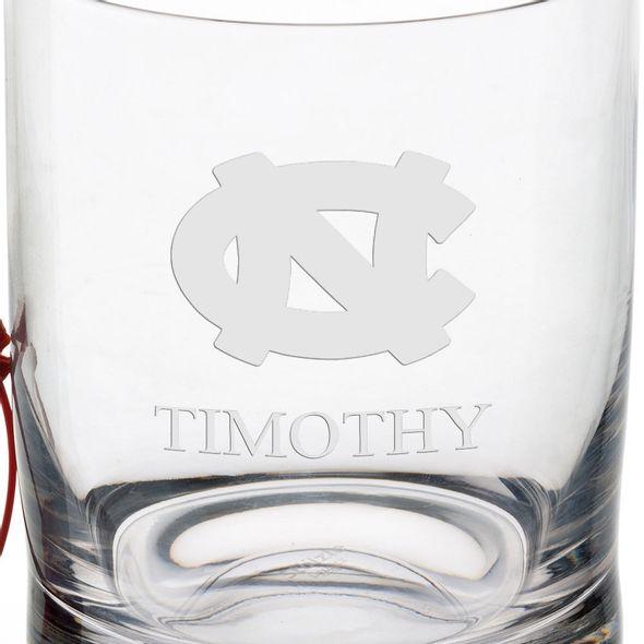 University of North Carolina Tumbler Glasses - Set of 2 - Image 3