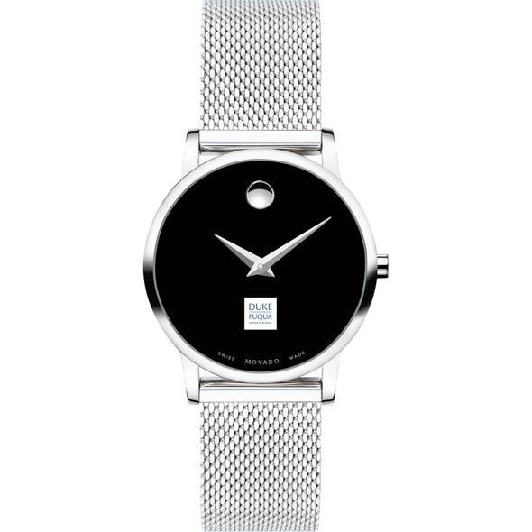 The Fuqua School of Business Women's Movado Museum with Mesh Bracelet - Image 2