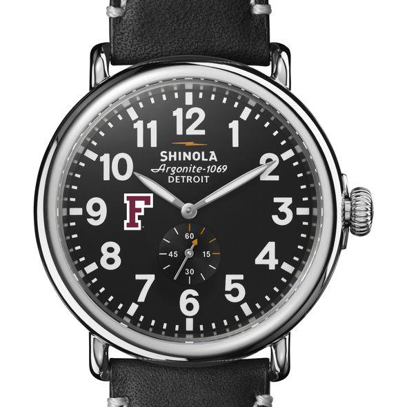 Fordham Shinola Watch, The Runwell 47mm Black Dial