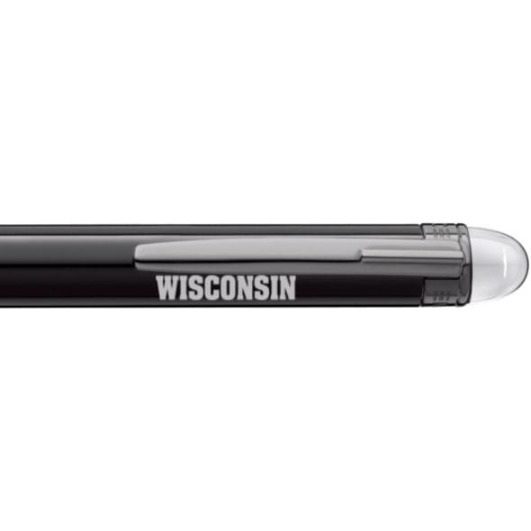 Wisconsin Montblanc StarWalker Ballpoint Pen in Ruthenium - Image 2