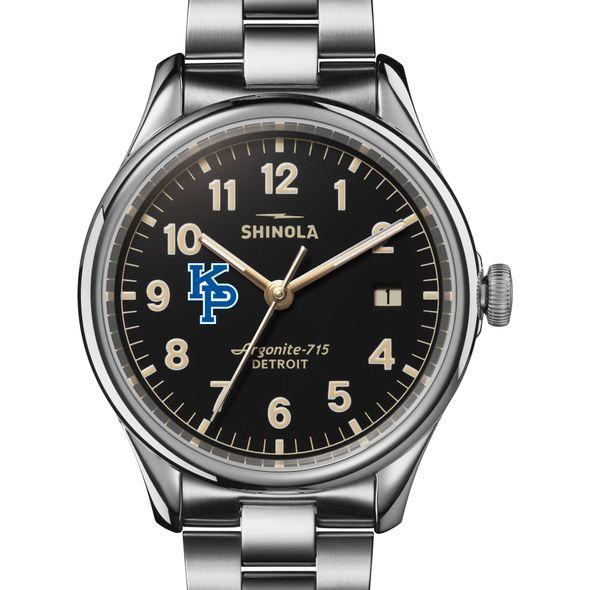 USMMA Shinola Watch, The Vinton 38mm Black Dial - Image 1