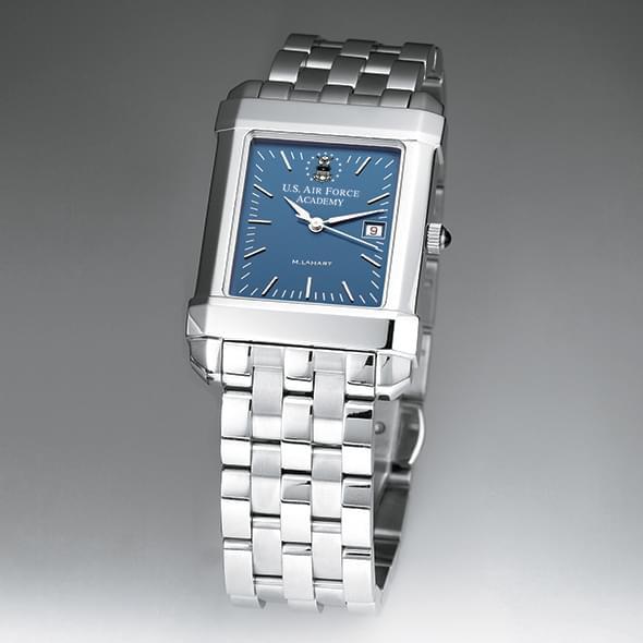 USAFA Men's Blue Quad Watch with Bracelet - Image 2