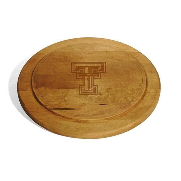 Texas Tech Round Bread Server