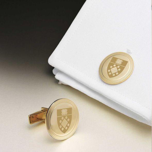 Yale SOM 14K Gold Cufflinks - Image 1