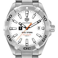 NYU Stern Men's TAG Heuer Steel Aquaracer