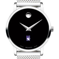 Northwestern University Women's Movado Museum with Mesh Bracelet