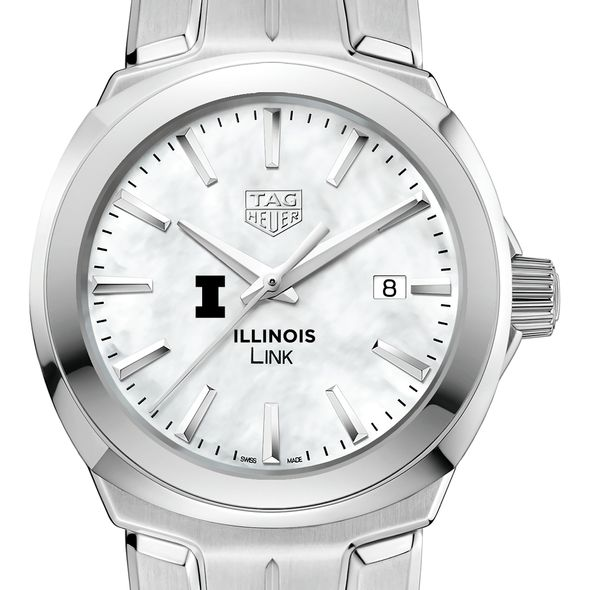 University of Illinois TAG Heuer LINK for Women