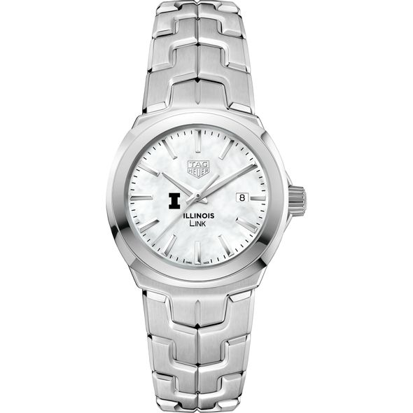 University of Illinois TAG Heuer LINK for Women - Image 2