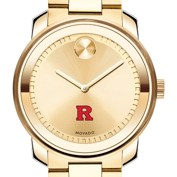 Rutgers University Men's Movado Gold Bold - Image 1