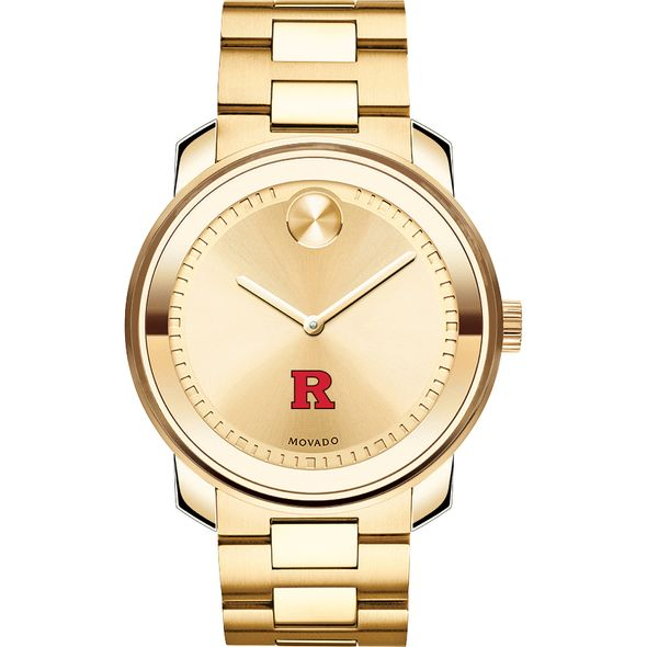 Rutgers University Men's Movado Gold Bold - Image 2