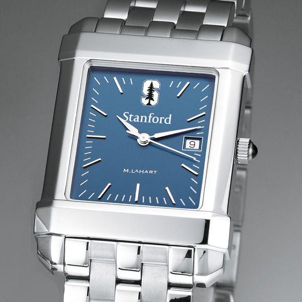 Stanford Men's Blue Quad Watch with Bracelet