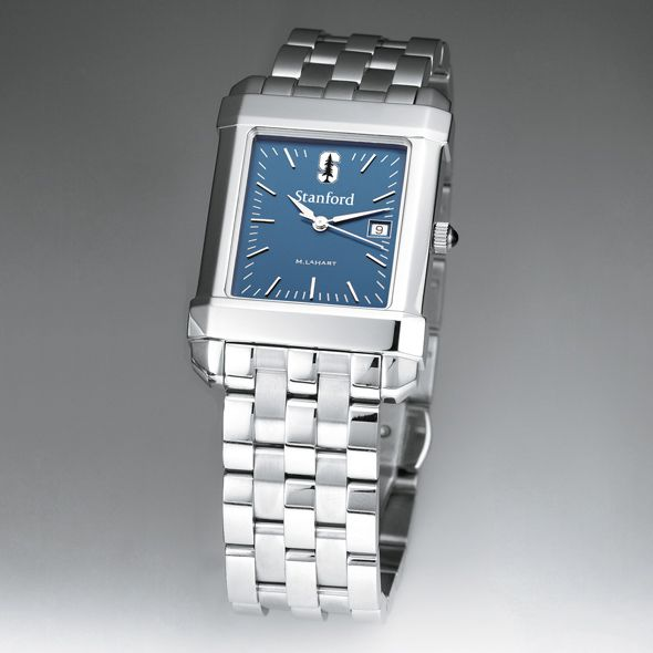 Stanford Men's Blue Quad Watch with Bracelet - Image 2