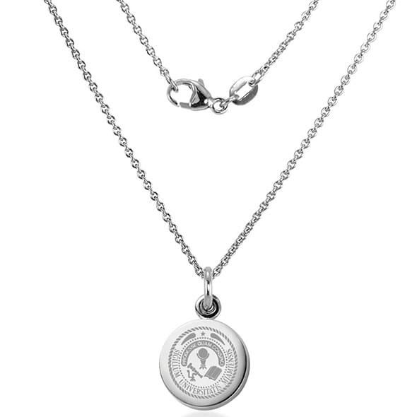 Miami University Necklace with Charm in Sterling Silver - Image 2