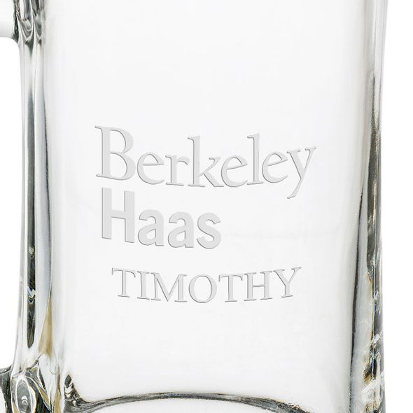 Berkeley Haas 25 oz Beer Mug - Image 3