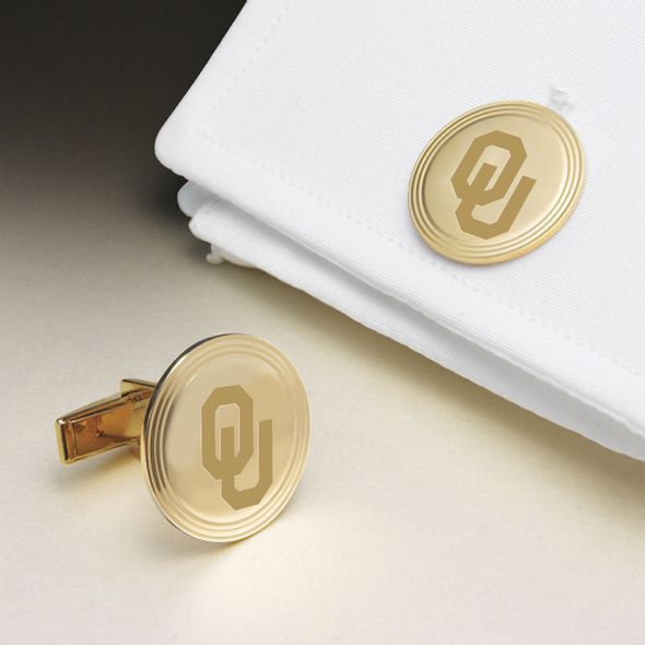 Oklahoma 14K Gold Cufflinks