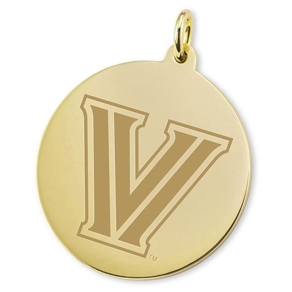 Villanova 14K Gold Charm - Image 2