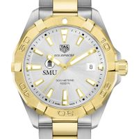 Southern Methodist University Men's TAG Heuer Two-Tone Aquaracer