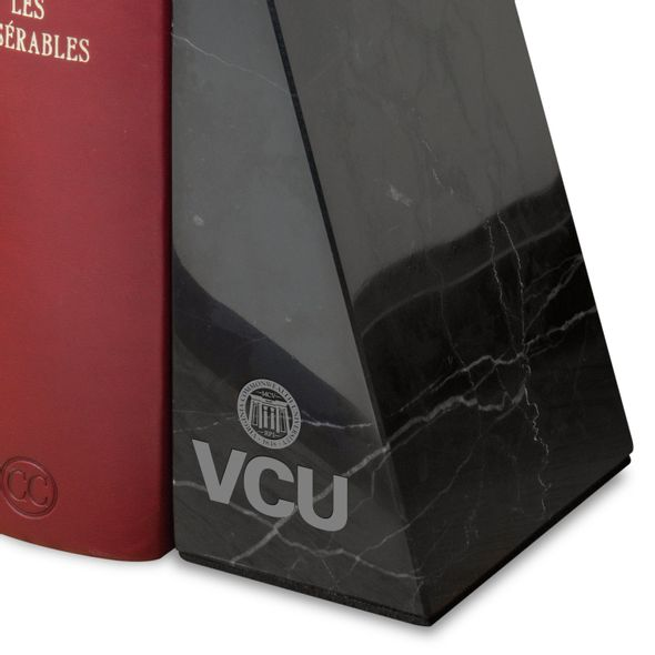 Virginia Commonwealth University Marble Bookends by M.LaHart - Image 2