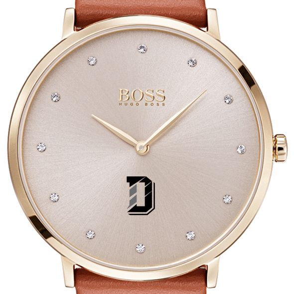 Davidson College Women's BOSS Champagne with Leather from M.LaHart
