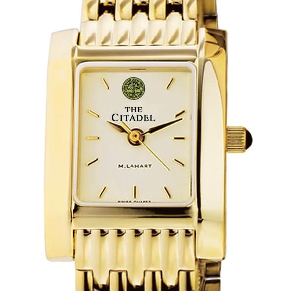 Citadel Women's Gold Quad Watch with Bracelet