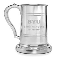 Brigham Young University Pewter Stein