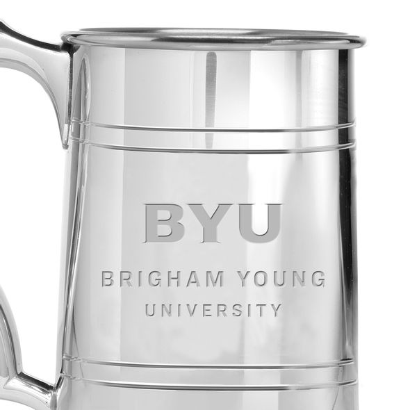 Brigham Young University Pewter Stein - Image 2