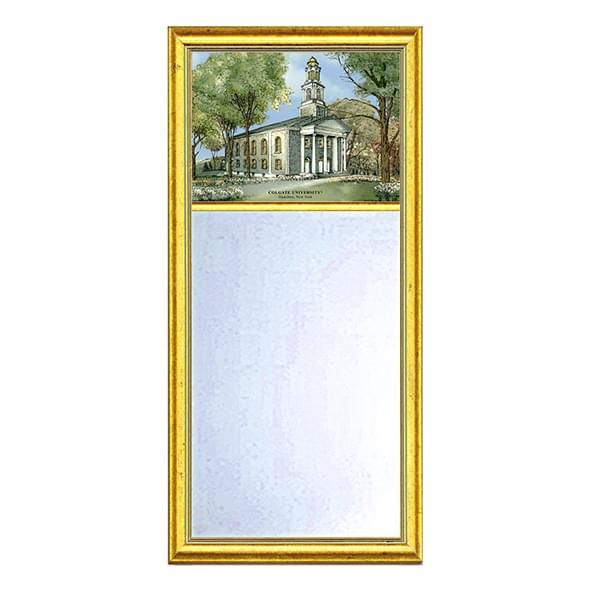 Colgate Eglomise Mirror with Gold Frame