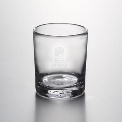Brown Double Old Fashioned Glass by Simon Pearce