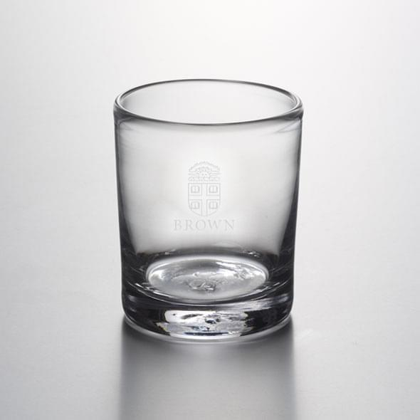 Brown Double Old Fashioned Glass by Simon Pearce - Image 2