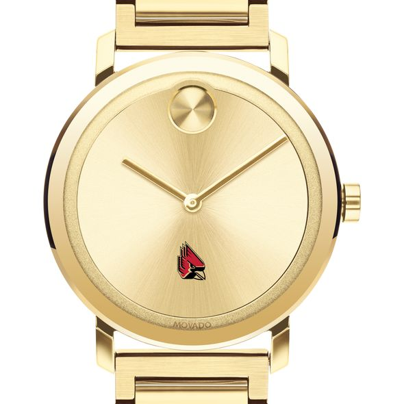 Ball State Men's Movado Bold Gold with Bracelet - Image 1