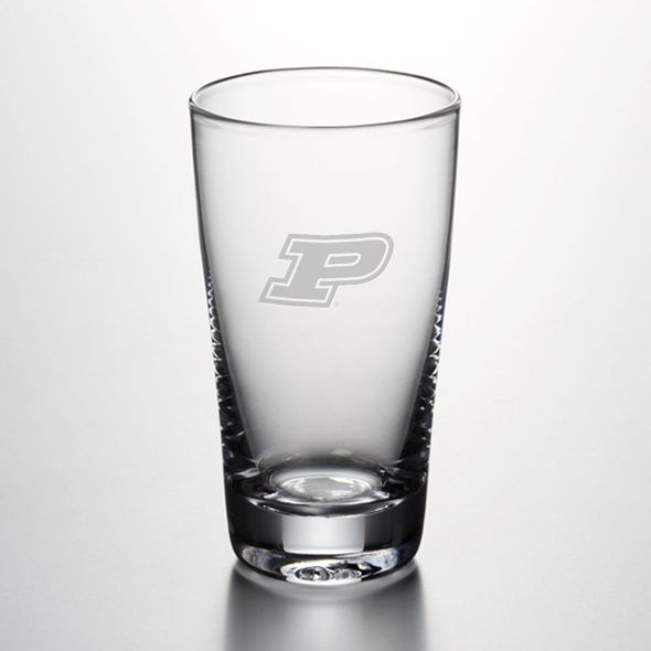 Purdue University Ascutney Pint Glass by Simon Pearce