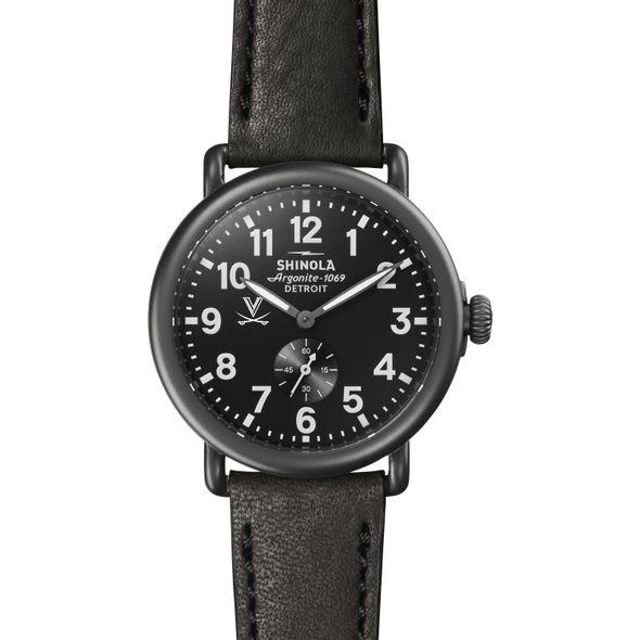 UVA Shinola Watch, The Runwell 41mm Black Dial - Image 2