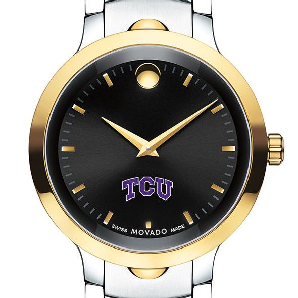 Texas Christian University Men's Movado Luno Sport Two-Tone