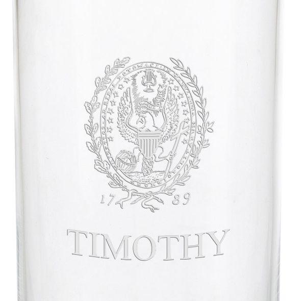 Georgetown University Iced Beverage Glasses - Set of 4 - Image 3