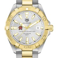 University of Maryland Men's TAG Heuer Two-Tone Aquaracer
