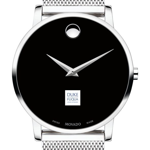 The Fuqua School of Business Men's Movado Museum with Mesh Bracelet - Image 1