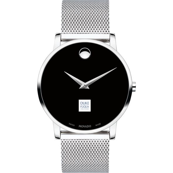The Fuqua School of Business Men's Movado Museum with Mesh Bracelet - Image 2