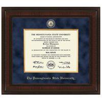 Penn State Excelsior Diploma Frame