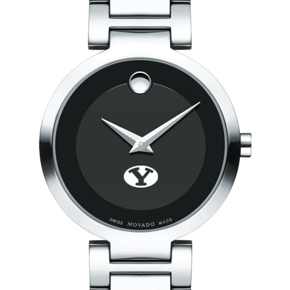 Brigham Young University Women's Movado Museum with Steel Bracelet