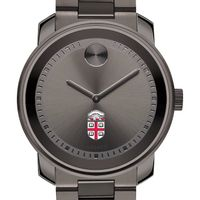 Brown Men's Movado BOLD Gunmetal Grey