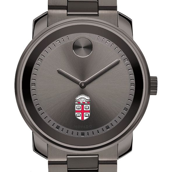 Brown University Men's Movado BOLD Gunmetal Grey - Image 1