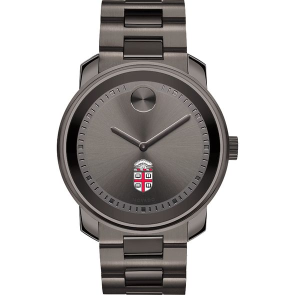 Brown University Men's Movado BOLD Gunmetal Grey - Image 2