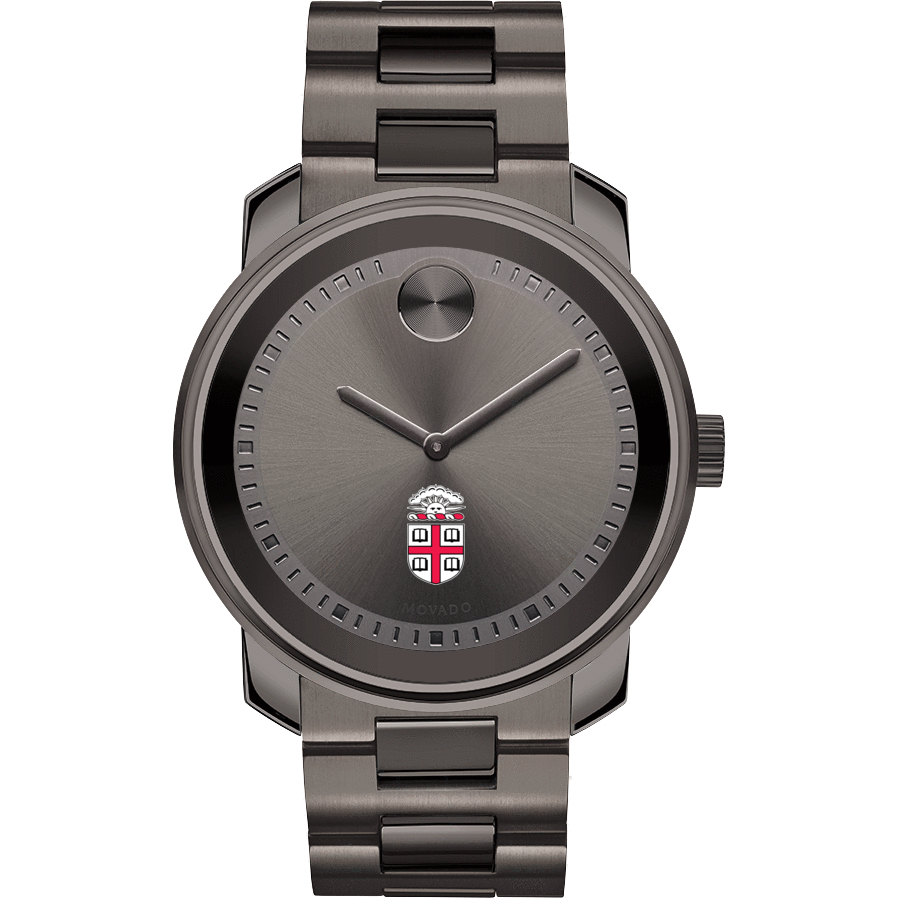 Brown Men's Movado BOLD Gunmetal Grey - Image 2