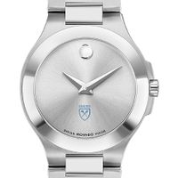 Emory Women's Movado Collection Stainless Steel Watch with Silver Dial