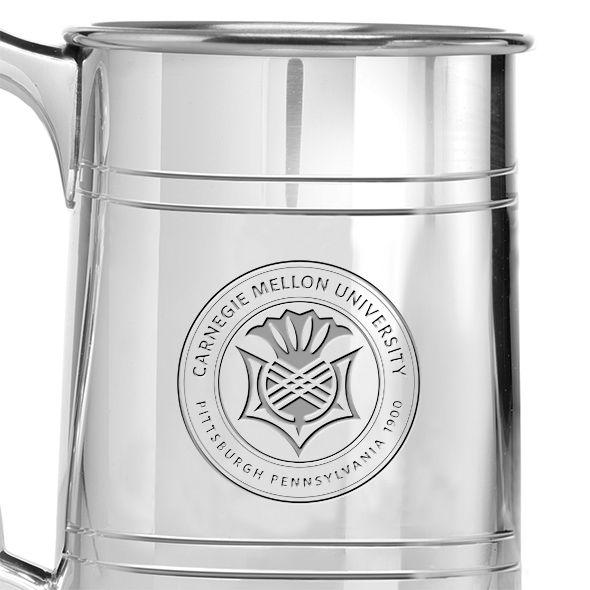 Carnegie Mellon University Pewter Stein - Image 2
