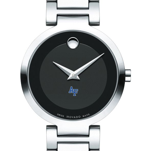US Air Force Academy Women's Movado Museum with Steel Bracelet