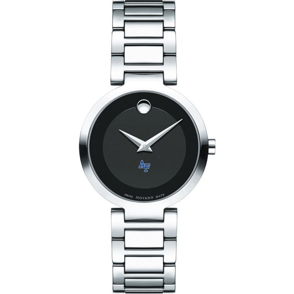 US Air Force Academy Women's Movado Museum with Steel Bracelet - Image 2