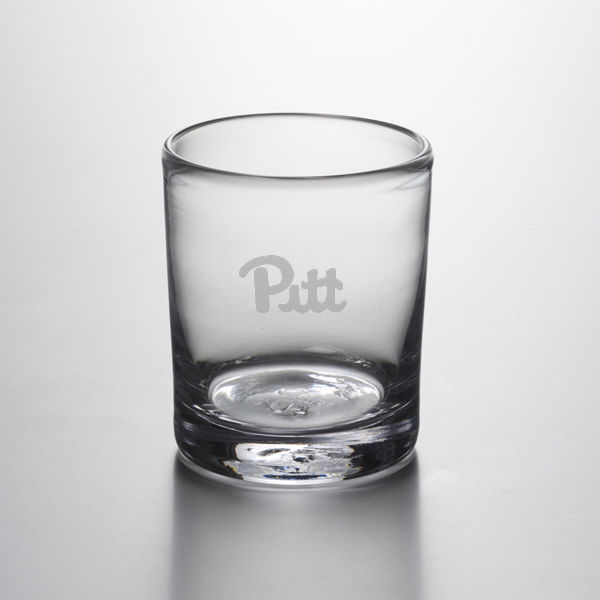 Pitt Double Old Fashioned Glass by Simon Pearce