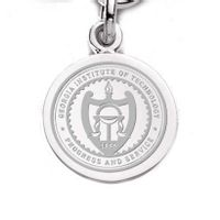 Georgia Tech Sterling Silver Charm